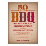 Invitación de la celebración del Bbq del