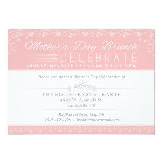 Invitación de la celebración del brunch del día de