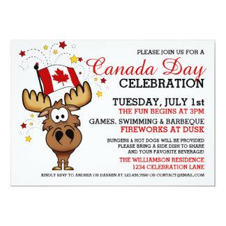 Invitación de la celebración del día de Canadá