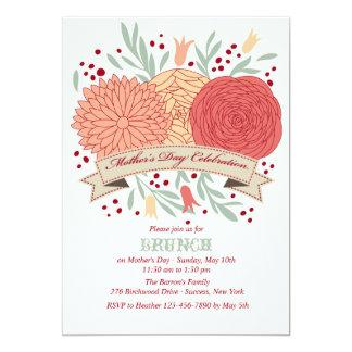 Invitación de la celebración del día de madre