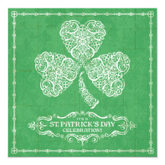 Invitación de la celebración del día de St Patrick