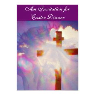 Invitación de la cena de Pascua - religiosa