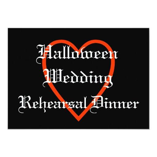 Invitación de la cena del ensayo del boda de