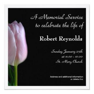 Invitación de la ceremonia conmemorativa invitación 13,3 cm x 13,3cm