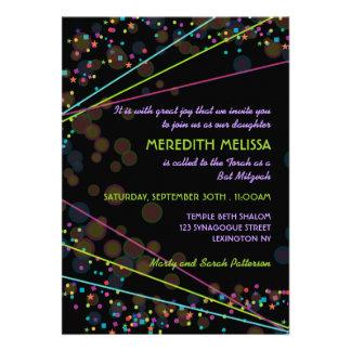 Invitación de la ceremonia de Mitzvah del palo de