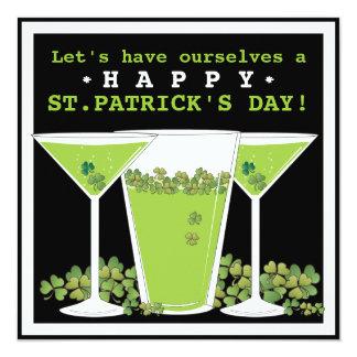 Invitación de la cerveza del día del St. Patricks