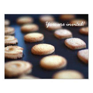 Invitación de la colección de las galletas de