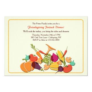 Invitación de la cosecha de la caída