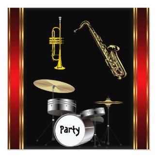 Invitación de la danza de la música de la fiesta
