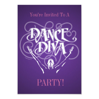 Invitación de la diva de la danza