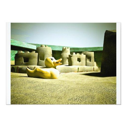 Invitación de la diversión 05 de la caja de la invitación 12,7 x 17,8 cm