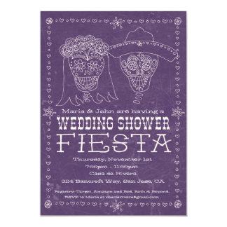 Invitación de la ducha de Dia de los Muertos