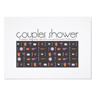 Invitación de la ducha de los pares - cocina