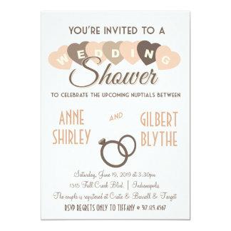Invitación de la ducha de los pares de la ducha