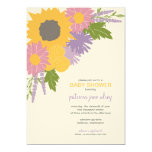 Invitación de la ducha de los Wildflowers