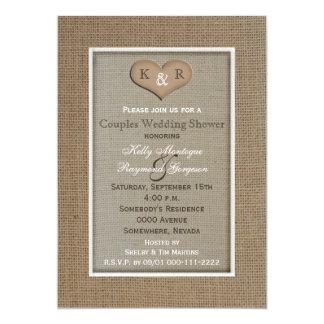 Invitación de la ducha del boda del Coed de los