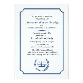 Invitación de la esquina de la graduación de los