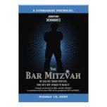Invitación de la estrella de cine de Mitzvah de la