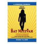 Invitación de la estrella de cine de Mitzvah del p