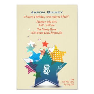 Invitación de la estrella del cumpleaños