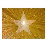 Invitación de la estrella del oro