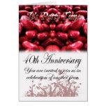 Invitación de la fiesta de aniversario del traspla