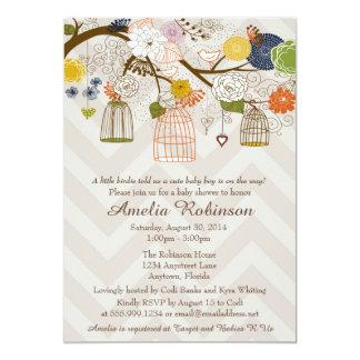 Invitación de la fiesta de bienvenida al bebé, invitación 12,7 x 17,8 cm