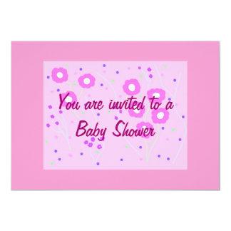 Invitación de la fiesta de bienvenida al bebé,