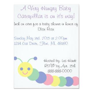 Invitación de la fiesta de bienvenida al bebé de invitación 10,8 x 13,9 cm