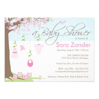 Invitación de la fiesta de bienvenida al bebé - ro