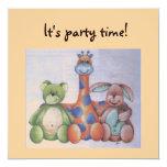 . Invitación de la fiesta de cumpleaños Invitación 13,3 Cm X 13,3cm