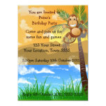 Invitación de la fiesta de cumpleaños invitación 13,9 x 19,0 cm