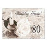 Invitación de la fiesta de cumpleaños 101 años