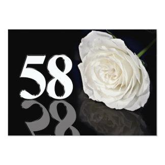 Invitación de la fiesta de cumpleaños 586 años
