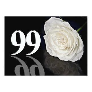 Invitación de la fiesta de cumpleaños 99 años