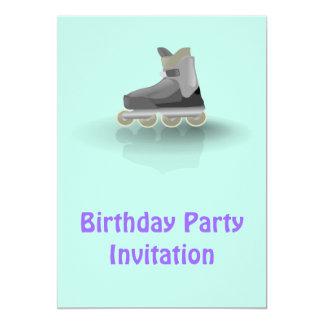 Invitación de la fiesta de cumpleaños con la