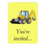 Invitación de la fiesta de cumpleaños con la invitación 12,7 x 17,8 cm