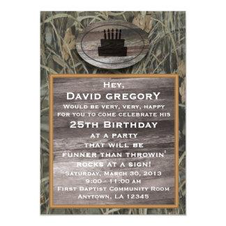 Invitación de la fiesta de cumpleaños de Camo