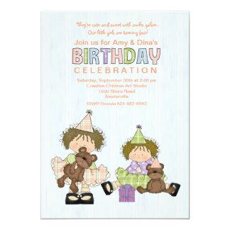 Invitación de la fiesta de cumpleaños de Cuties de