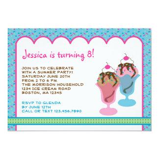 Invitación de la fiesta de cumpleaños de domingo