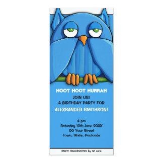 Invitación de la fiesta de cumpleaños de la invitación 10,1 x 23,5 cm