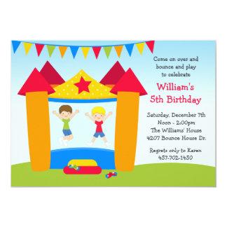 Invitación de la fiesta de cumpleaños de la casa