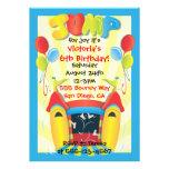 Invitación de la fiesta de cumpleaños de la casa d