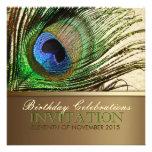Invitación de la fiesta de cumpleaños de la pluma