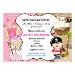 Invitación de la fiesta de cumpleaños de la prince