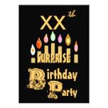 Invitación de la fiesta de cumpleaños de la SORPRE