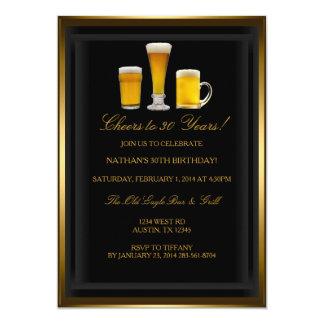 Invitación de la fiesta de cumpleaños de las
