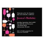 Invitación de la fiesta de cumpleaños de las copas