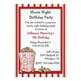 Invitación de la fiesta de cumpleaños de las palom