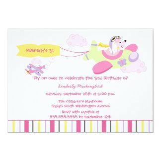 Invitación de la fiesta de cumpleaños de los